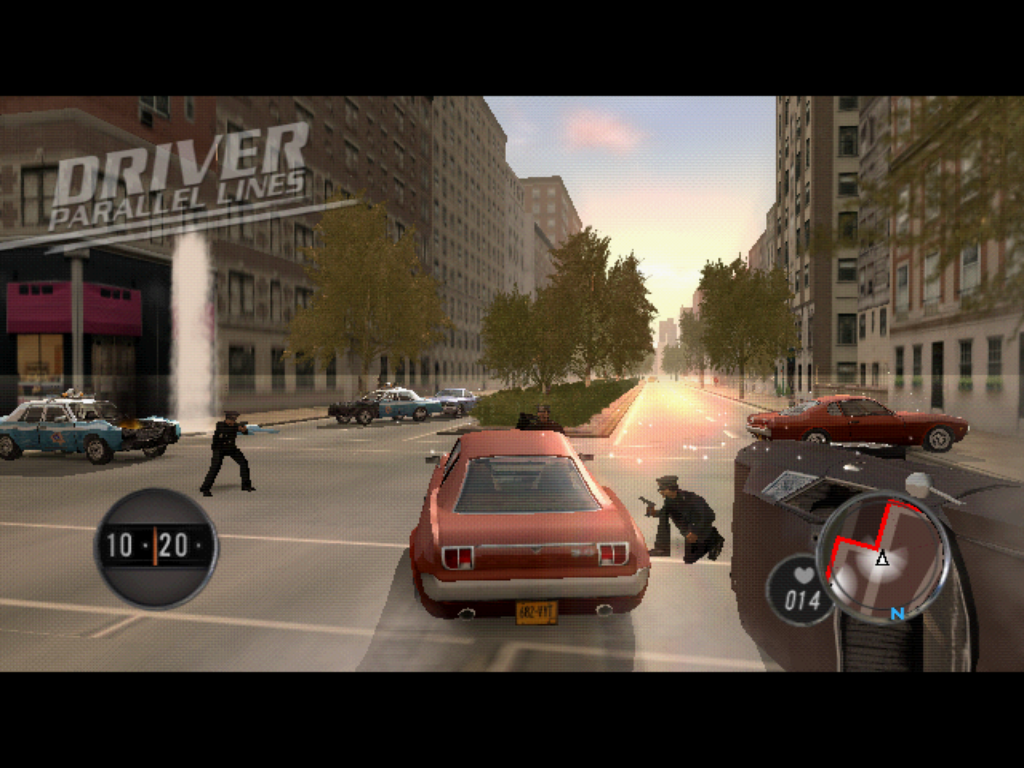 Driver: parallel lines ps2 demo driver madness.